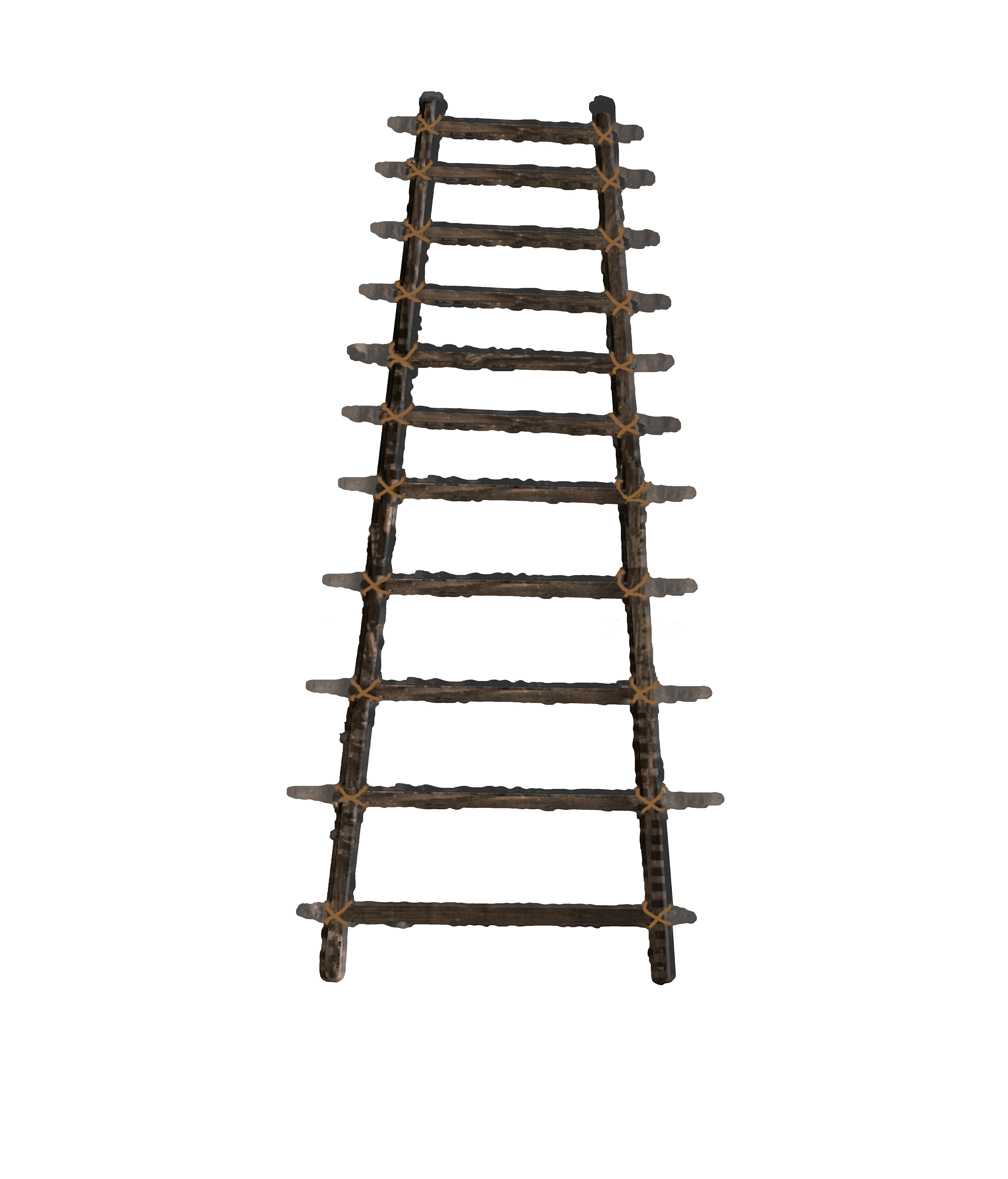 Hd png transparent images. Ladder clipart wood ladder