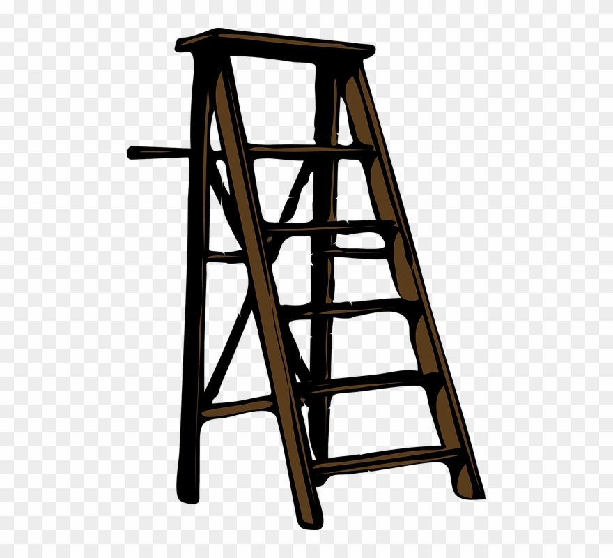 Free png download wood. Ladder clipart wooden ladder