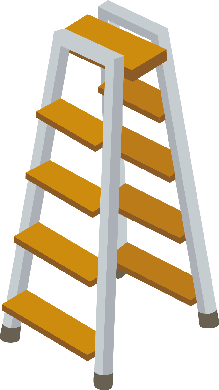 Clip art material picture. Ladder clipart yellow ladder