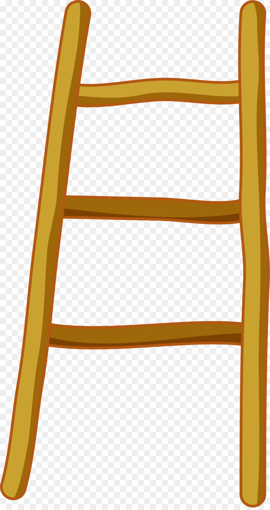 Cartoon drawing animation . Ladder clipart yellow ladder
