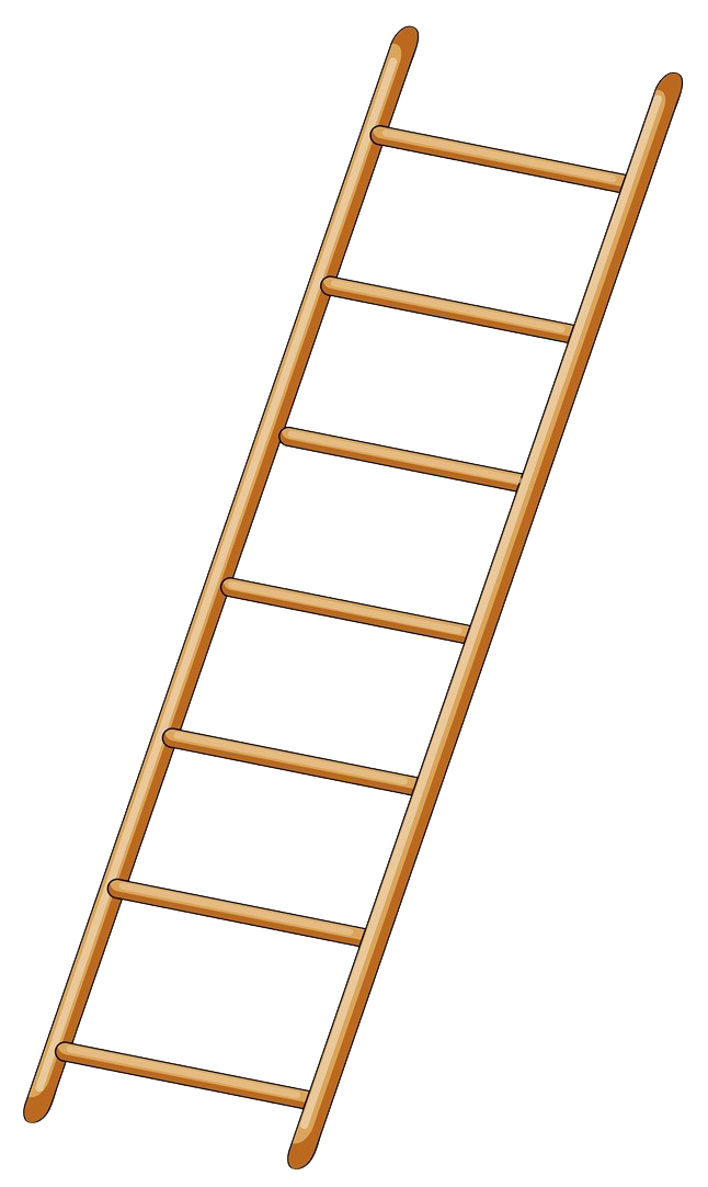 Royalty free drawing clip. Ladder clipart yellow ladder