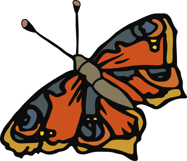 Lady clipart butterfly. Cartoon clip art at