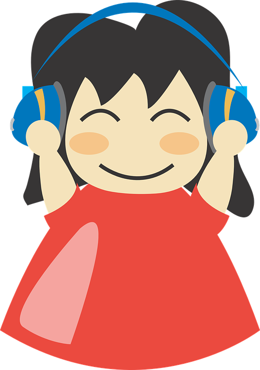 Collection of not listening. Lady clipart computer