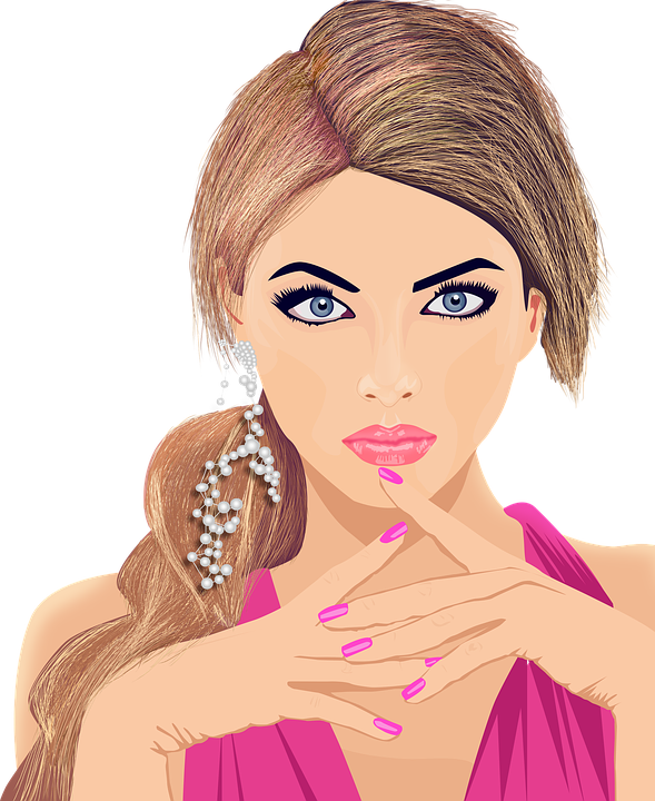 Lady clipart model. Single girl guide to