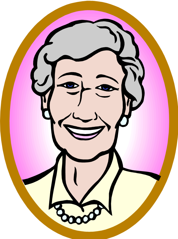 Lady clipart older. Free old pictures download