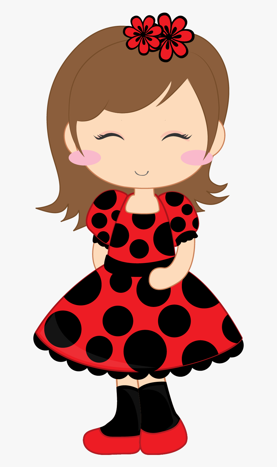 Lady clipart person.  s woman bug