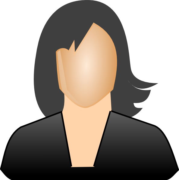 Clip art at clker. Lady clipart professional woman