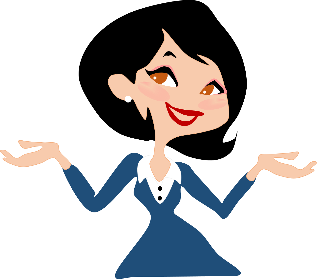 Happy clip art . Working clipart working lady
