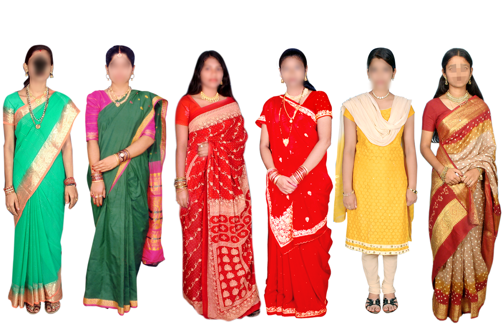 Indian psd for women. Lady clipart saree