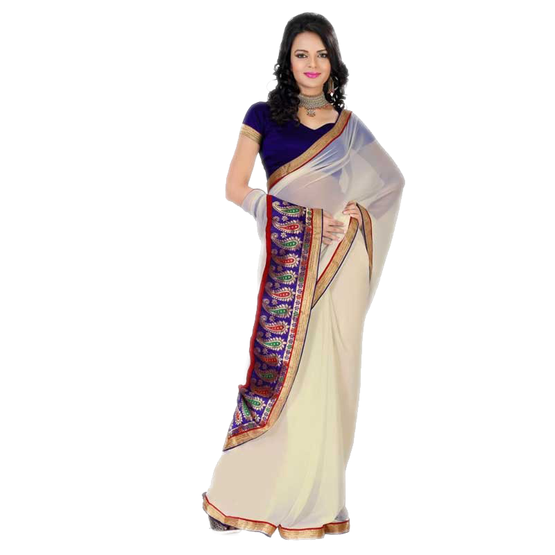 Lady clipart saree. Model png indian girl