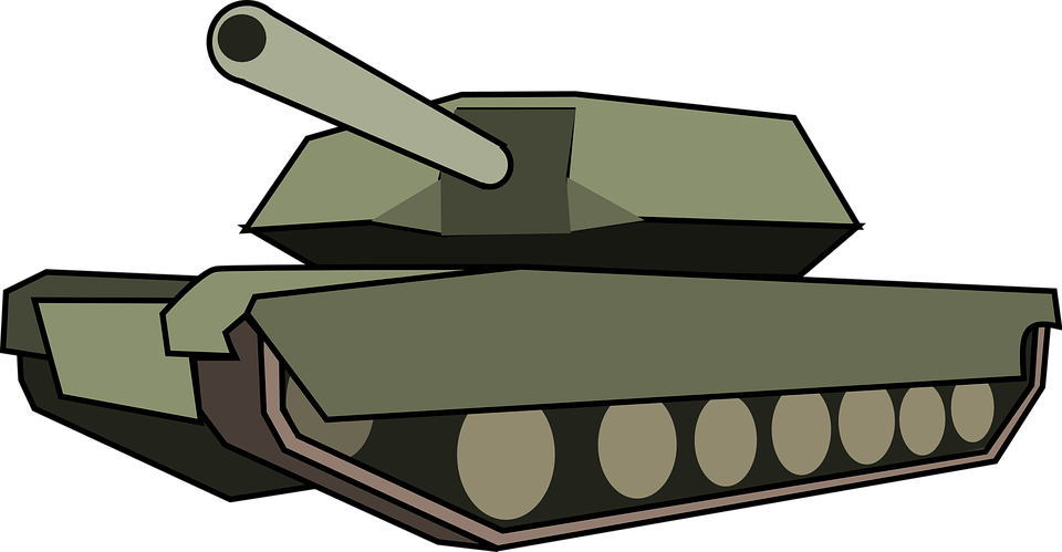 Military army tank free. Lady clipart soldier