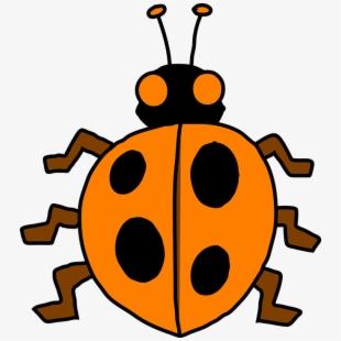 Ladybug cliparts . Ladybugs clipart 10 orange