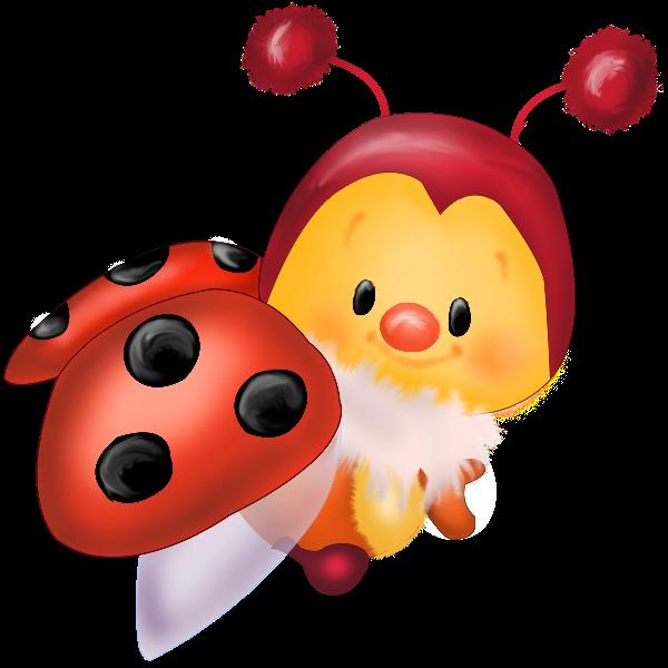 Ladybugs 10 orange