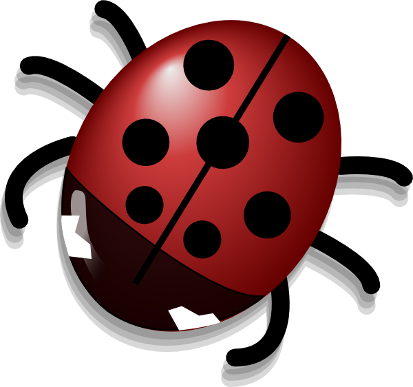 Clip art at clker. Ladybug clipart animated