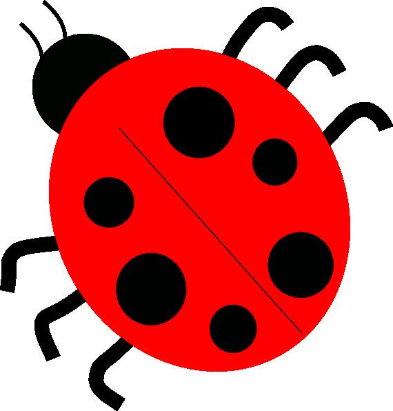 Red ladybugs clip art. Ladybug clipart animated