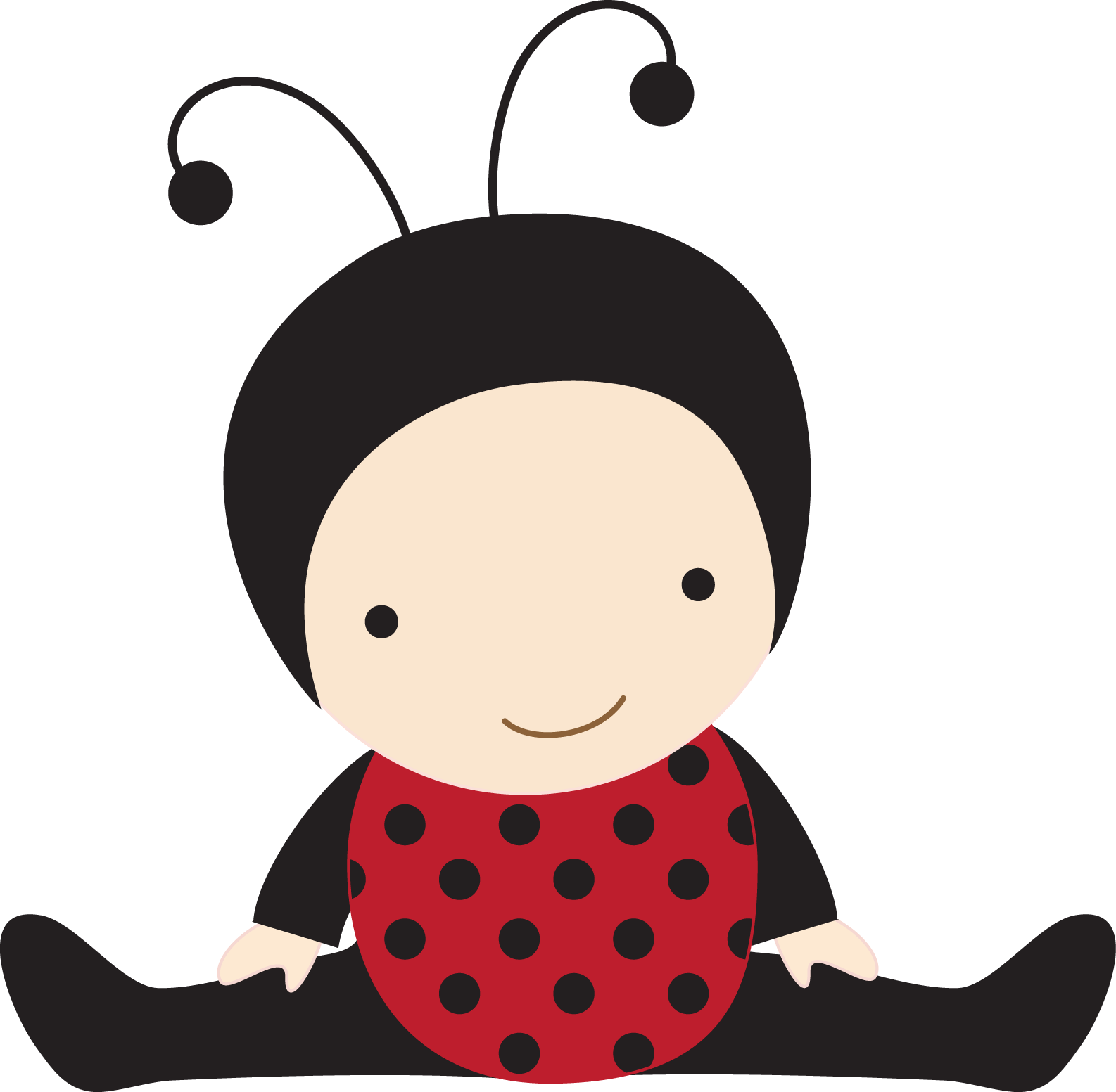 Ladybug clipart baby girl.  collection of high