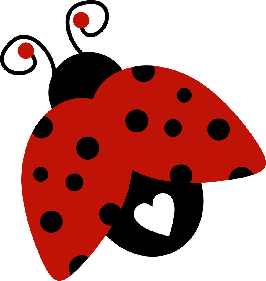 Joaninha minus already felt. Ladybug clipart birthday