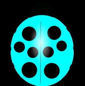 Ladybug clipart blue ladybug. Light clip art vector