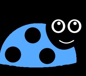 Clip art at clker. Ladybug clipart blue ladybug