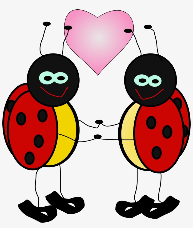 Ladybugs cartoon free . Ladybug clipart celebration
