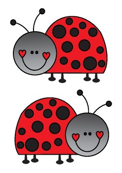 Ladybug clipart classroom decoration. Bulletin board set welcome