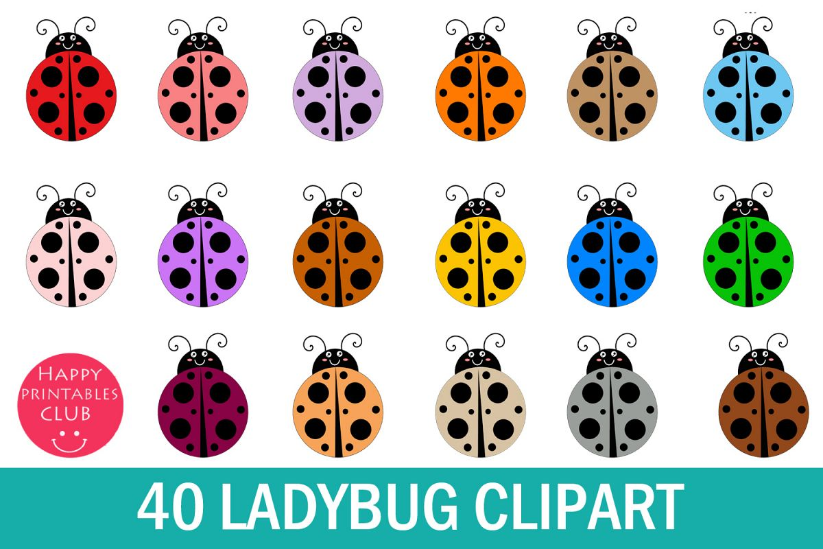 lady bug cute. Ladybugs clipart one object