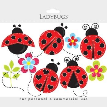 Ladybug clipart cute. Stitched ladybugs clip art