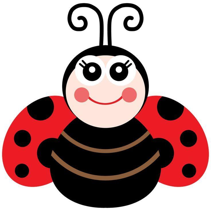 Joaninha minus . Ladybug clipart cute