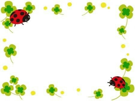 Pin by ibolya barkoczi. Ladybug clipart divider