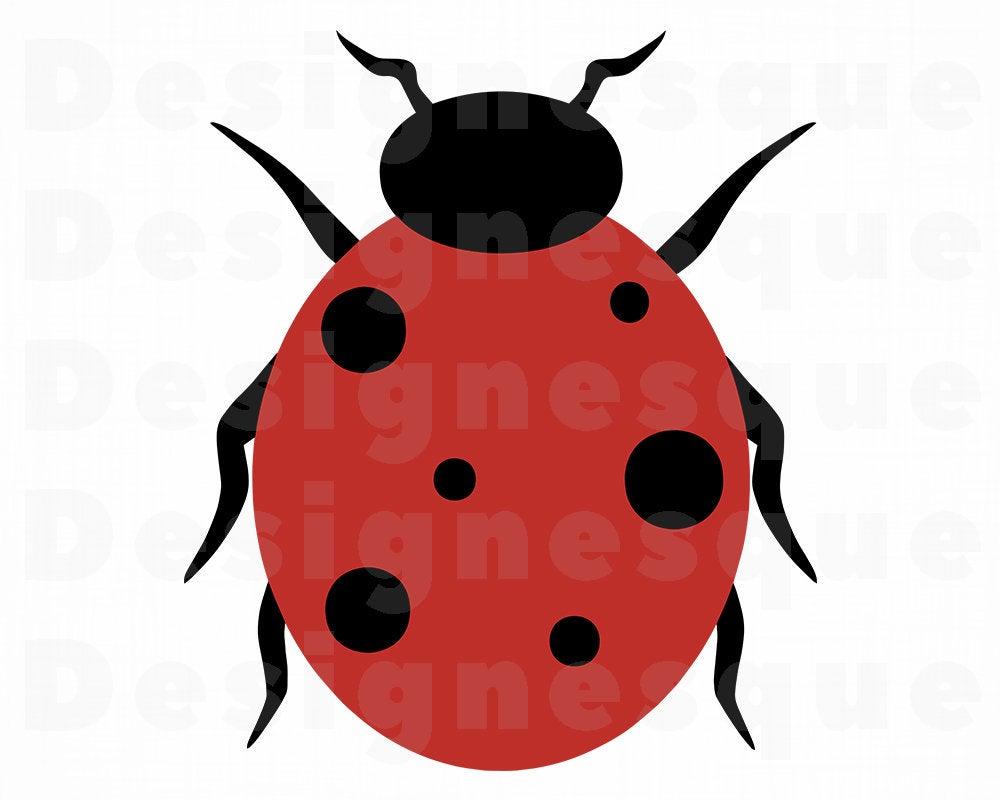 Ladybug clipart file. Svg files for cricut