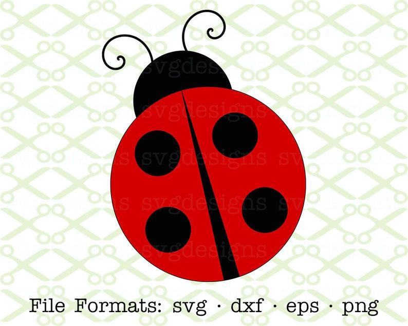 Ladybug svg dxf eps. Ladybugs clipart one object