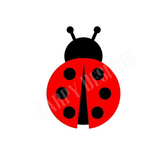 Ladybug monogram files . Ladybugs clipart svg
