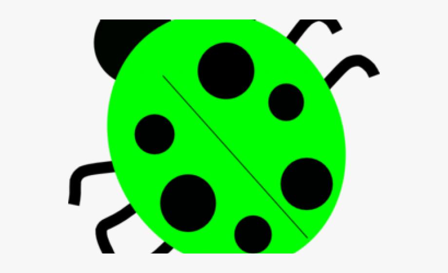 Ladybug clipart friendly. Public domain green transparent