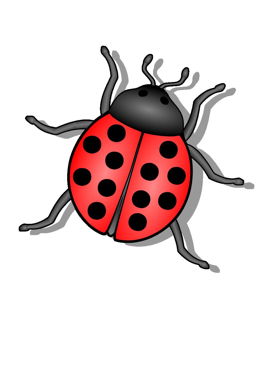 Clipartist net clip art. Ladybug clipart gambar