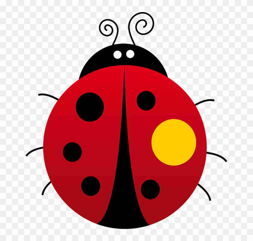 Ladybugs clipart gambar. Ladybug kumbang animasi kepik
