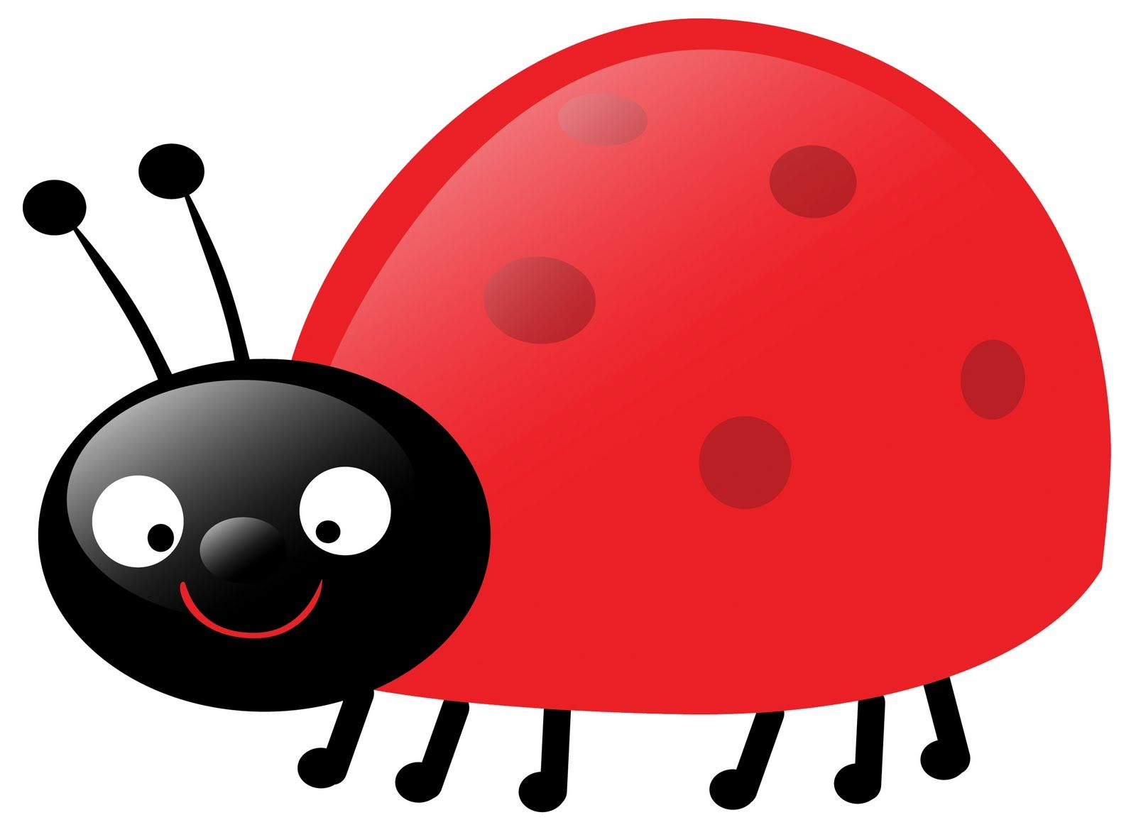 Ladybugs clipart side view. Red best ladybug clip