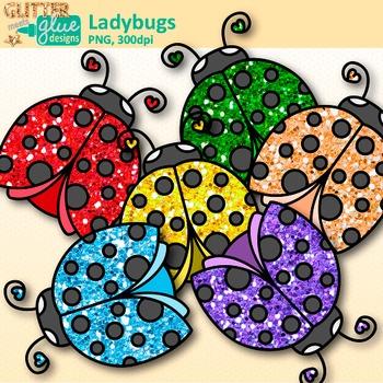 Ladybug clipart glitter. Garden clip art bug