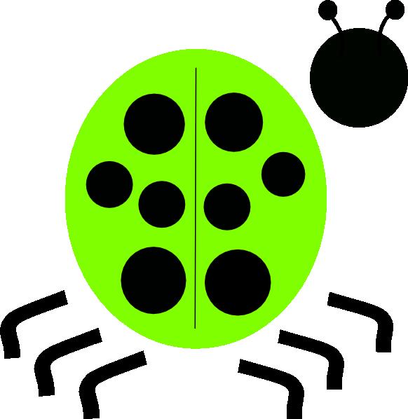 Ladybug clipart green ladybug. Clip art at clker