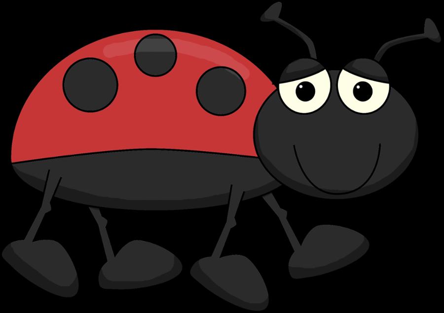 Jardim minus joaninhas pinterest. Ladybugs clipart grouchy ladybug