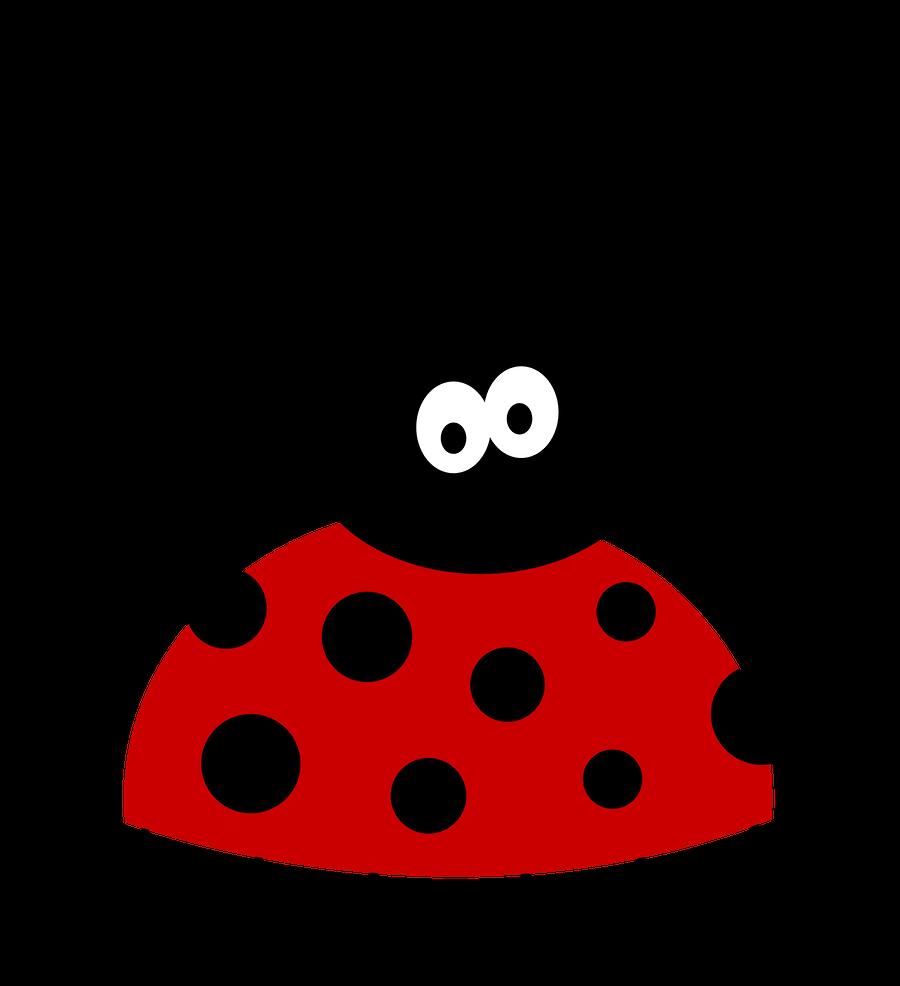 Ladybugs clipart minibeast. Joaninha minus already felt