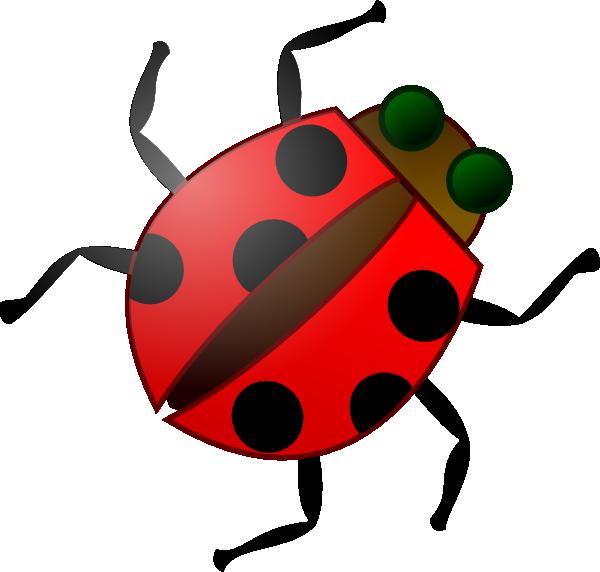 Cartoon clip art at. Ladybug clipart ladybug wing