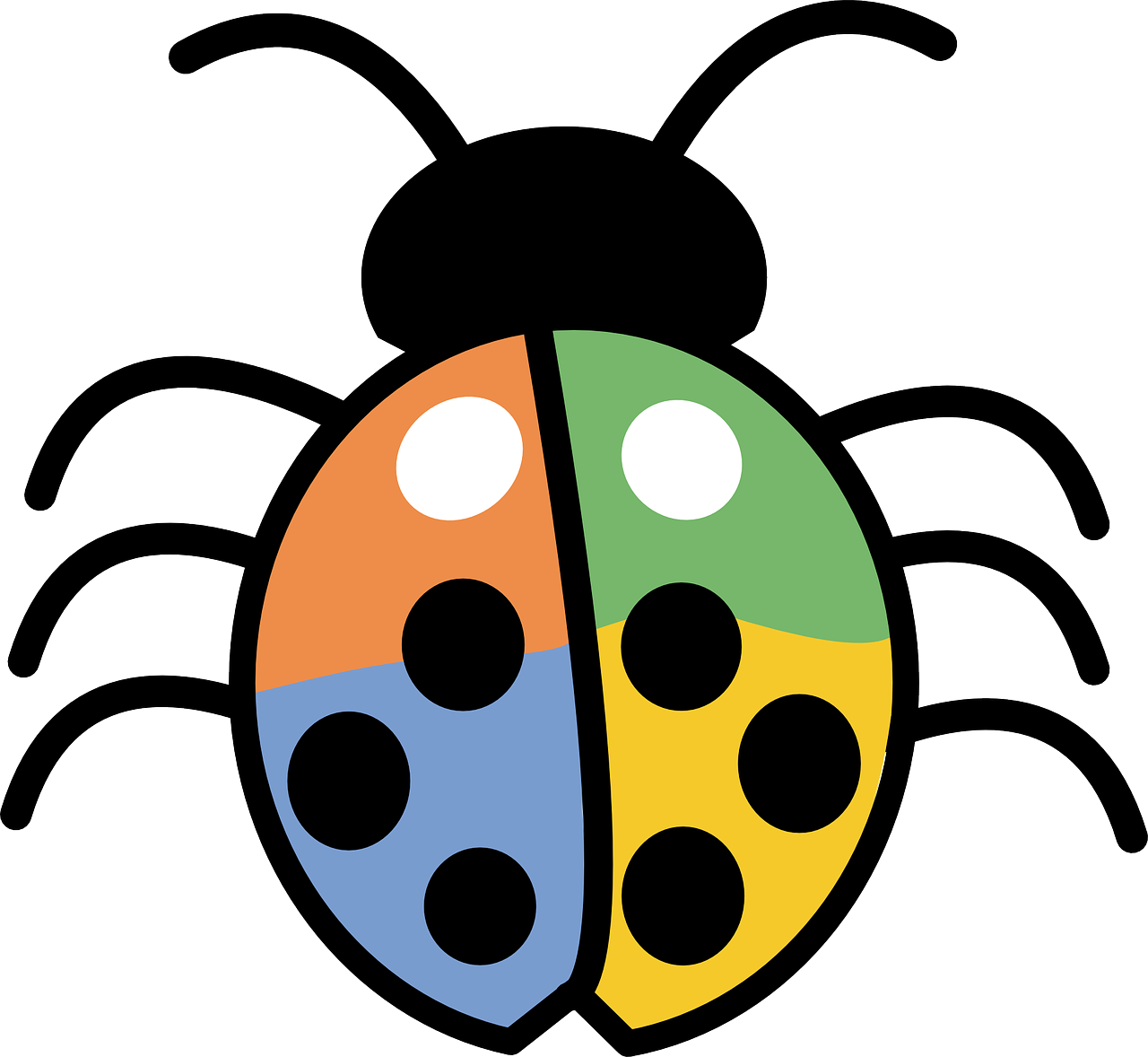 Ladybugs clipart lifecycle. Bug tracking system news