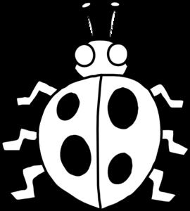 Ladybugs clipart line art. Ladybug clip at clker