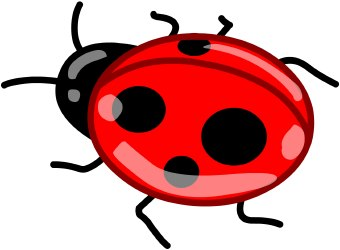 Free ladybird cliparts download. Ladybugs clipart five