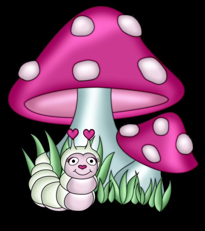 Pps s png pinterest. Ladybug clipart mushroom