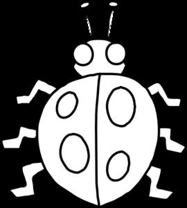 Ladybug clipart outline. Clip art at clker