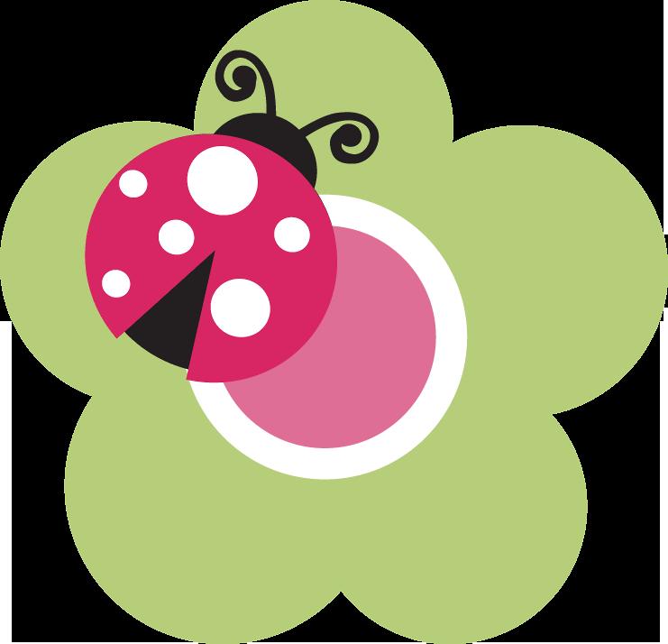 Joaninha minus x l. Ladybug clipart pink