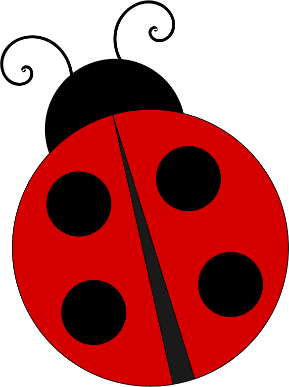 Ladybug clipart pretty. Medium image png