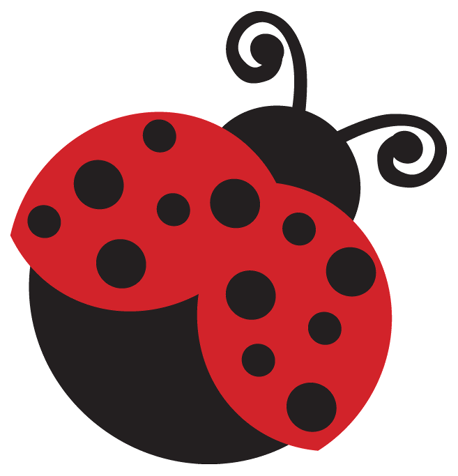 Ladybird zazzle sticker paper. Ladybug clipart pretty