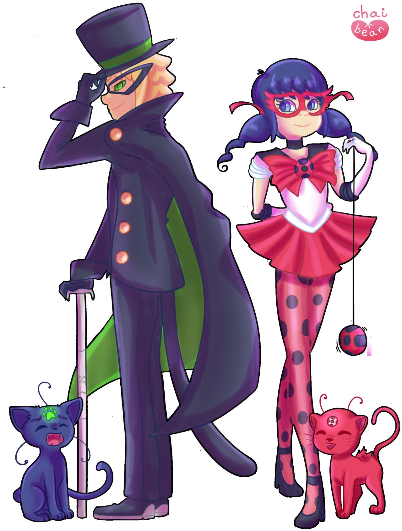 Ladybugs clipart purple. Sailor moon au miraculous